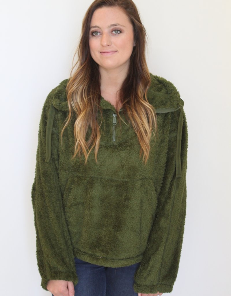 Free People: Big Sky High-Neck Pullover