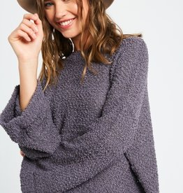 Easy Weekend Popcorn Sweater
