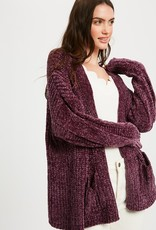 Cozy Pocket Chenille Cardigan