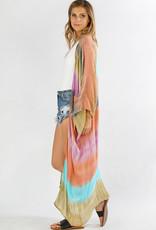 Sunrise Tie Dye Kimono