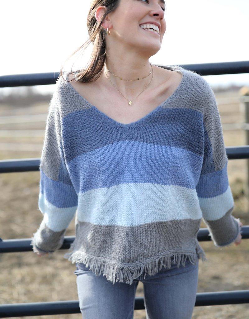Wooden Ships: Kaia Fringe Sweater