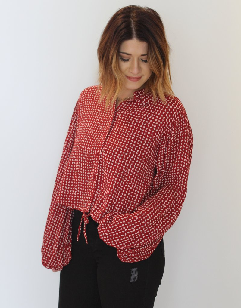 Amuse Society: Camille Woven Top