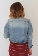 KanCan: Distressed Denim Jacket