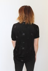 Another Love: Taylor Suede Star Tee