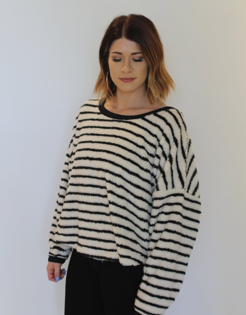 Free People: Breton Striped Pullover
