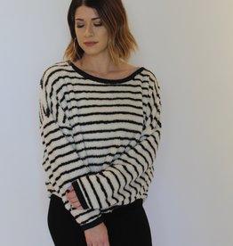 Free People: Breton Striped Pullover