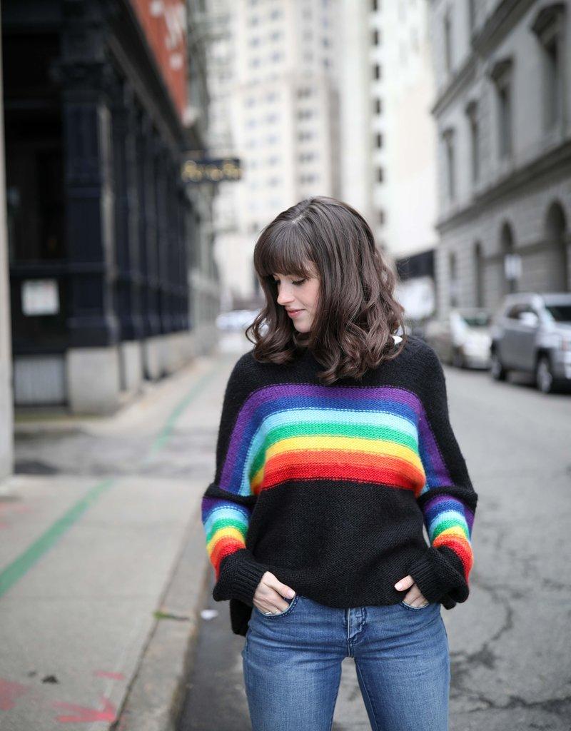 Wooden Ships: Rainbow Crew Sweater