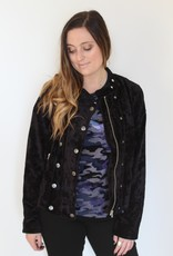 Free People: Dusk Till Dawn Dawn Velvet Jacket