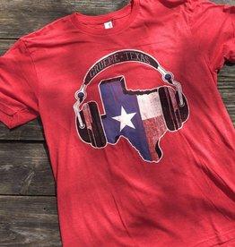 Gruene Texas Headphones Tee