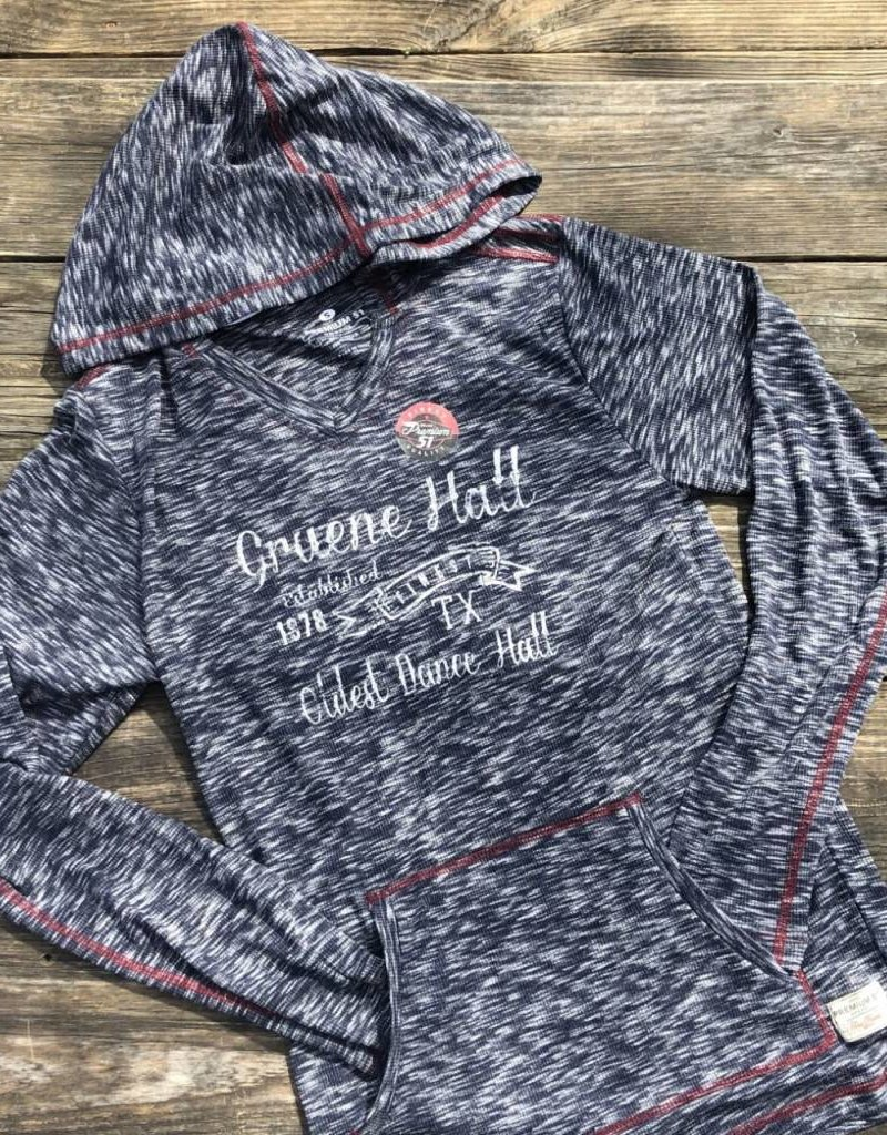 Women's Long sleeve Gruene Hall hoody