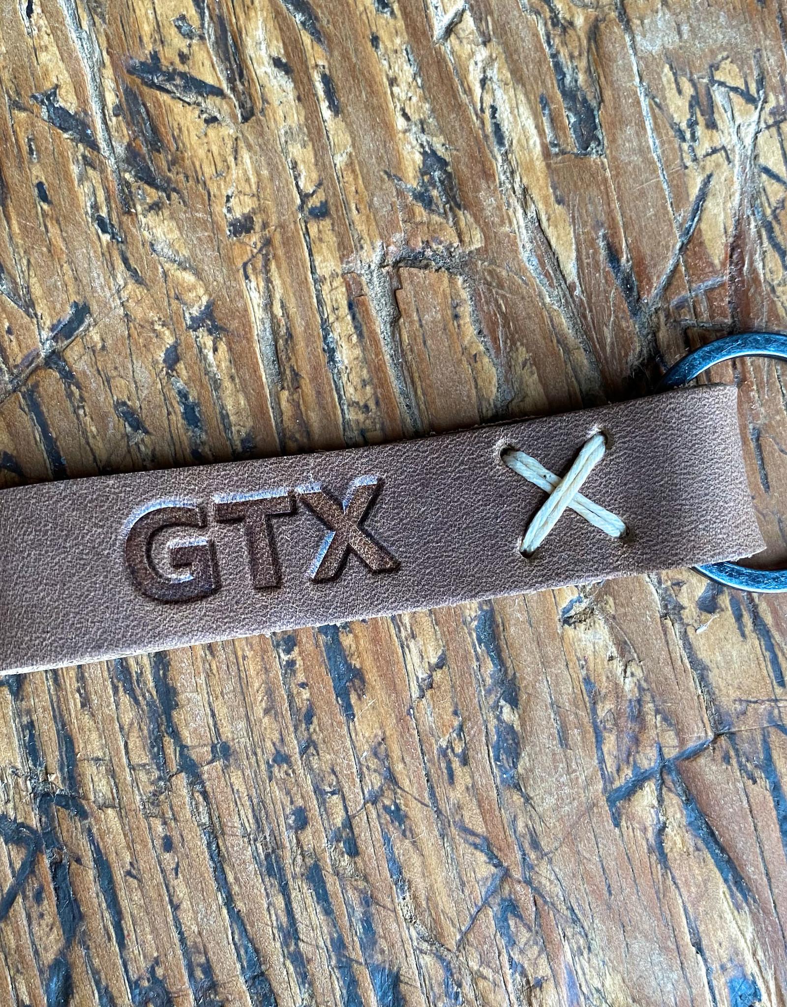GTX Leather Keychain