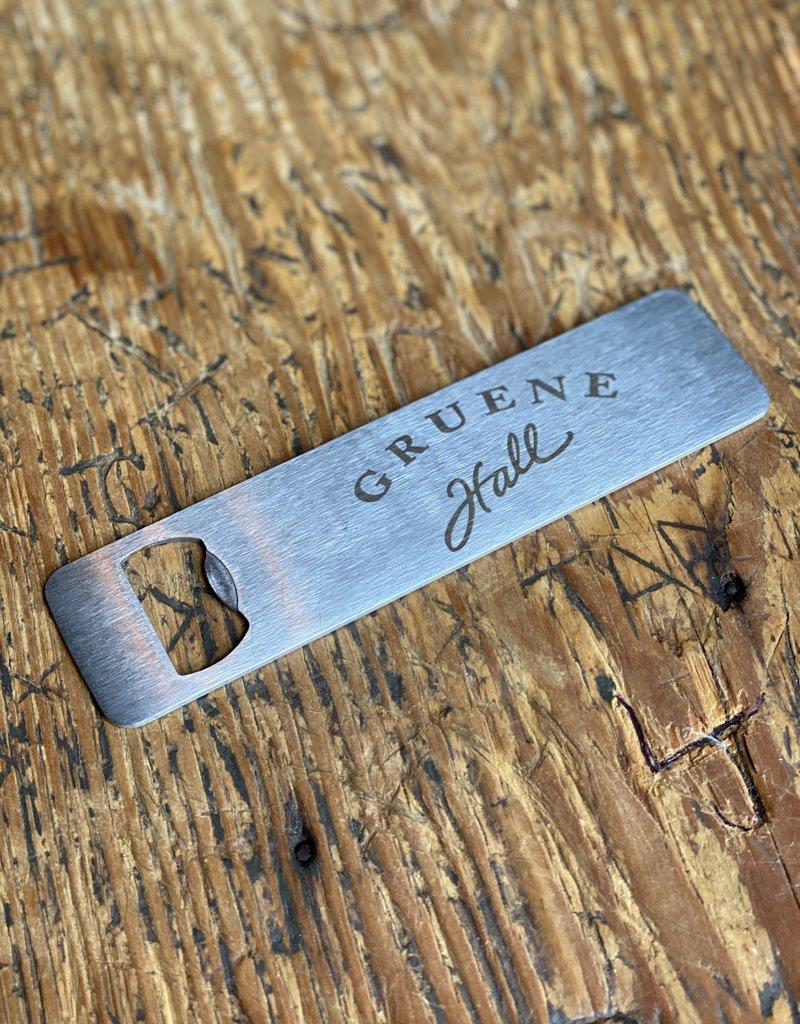 Stainless Steel Gruene Hall Bottle Opener Magnet