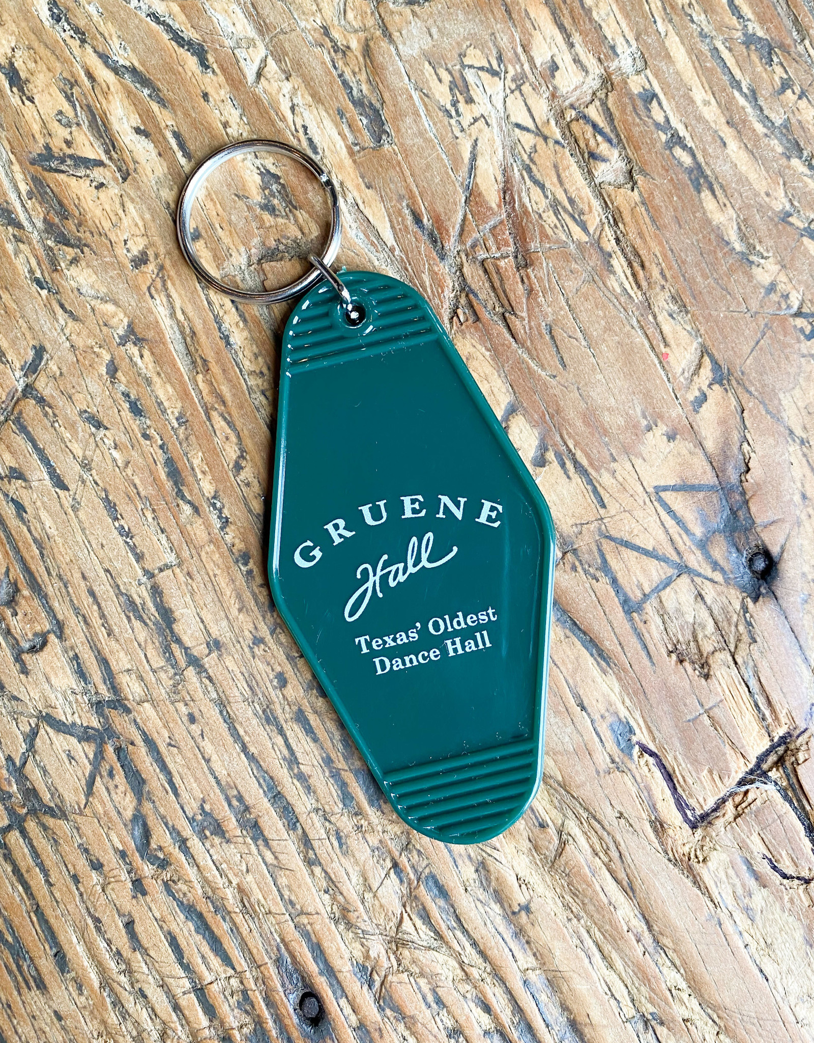 Gruene Hall Vintage Motel Key Chain