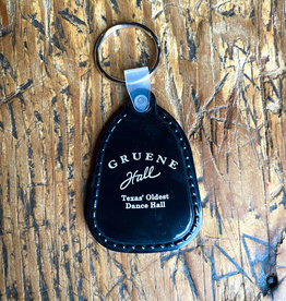 Gruene Hall Rubber Keychain