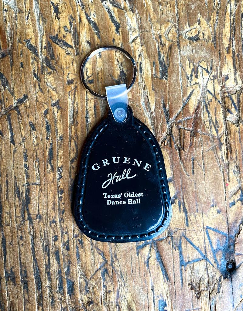 Gruene Hall Rubber Keychain