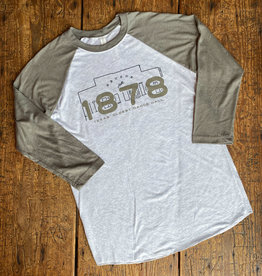 Simple Gruene Hall Building 1878 Baseball Tee