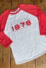Simple Building 1878 Baseball Tee