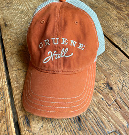 Garment Washed Trucker Cap Burnt Orange