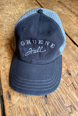 Garment Washed Trucker Black and Gray