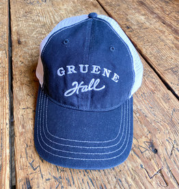Garment Washed Trucker Cap Navy