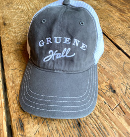 Garment Washed Trucker Cap Charcoal