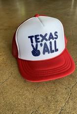 Kid's Texas Y'all Cap