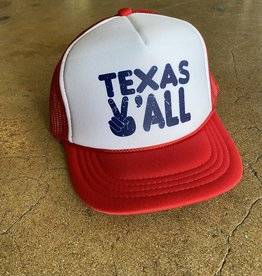 Kid's Texas Y'all Cap
