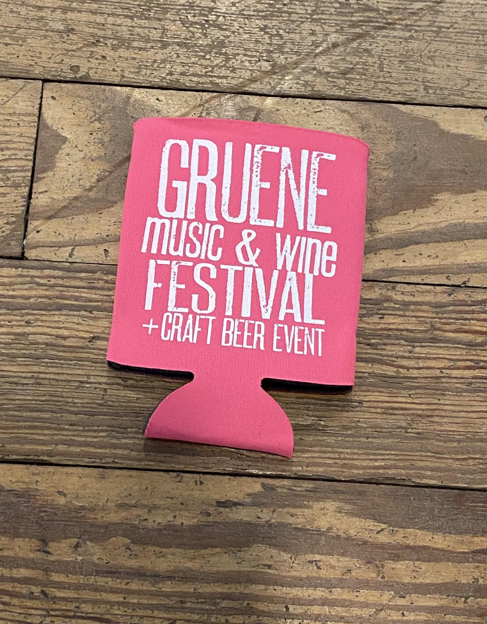 Gruene Music & Wine Fest Koozie