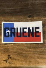 Gruene in Texas Flag Sticker