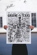 Gruene Texas Silkscreen Poster