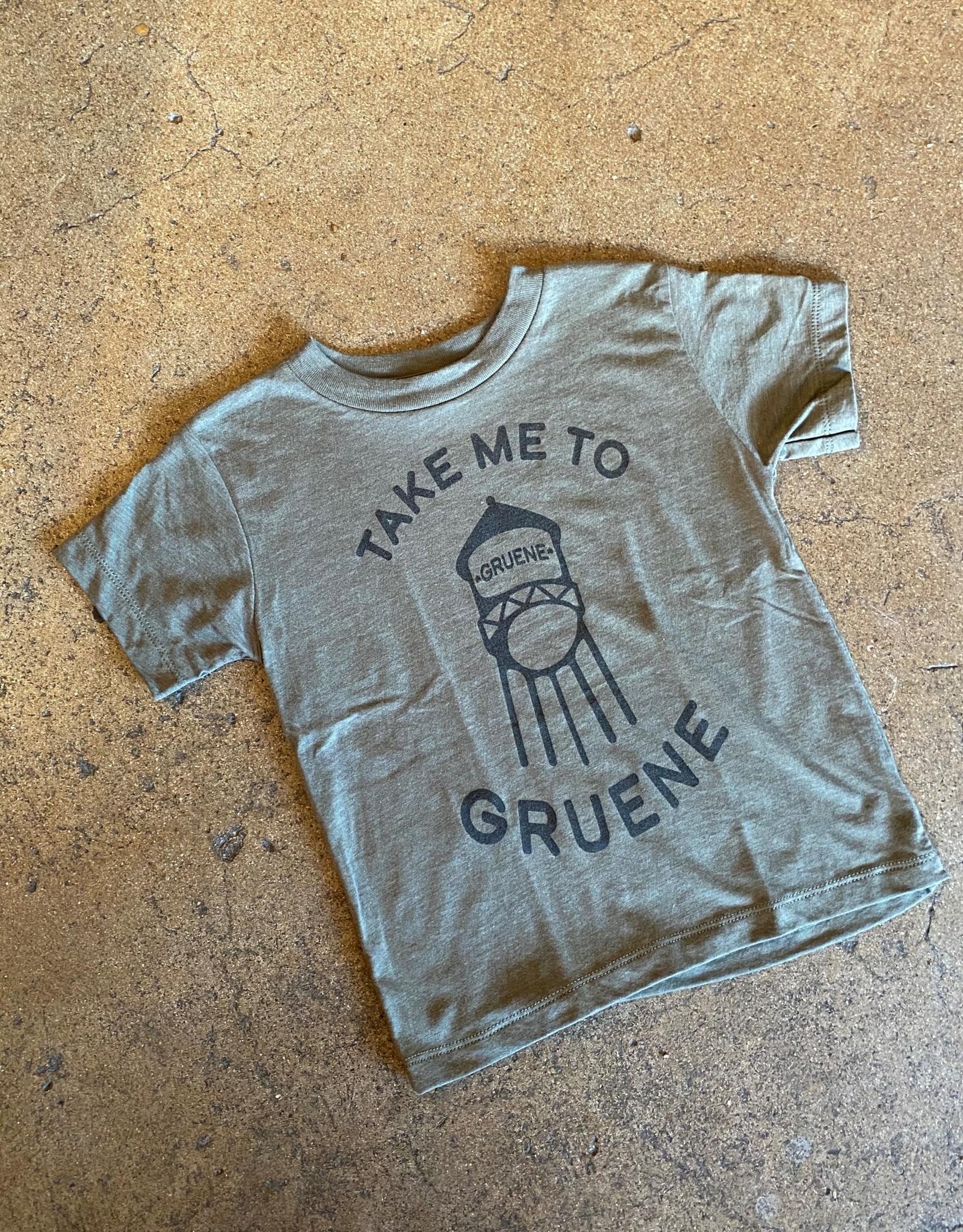 Baby Take Me To Gruene Tee
