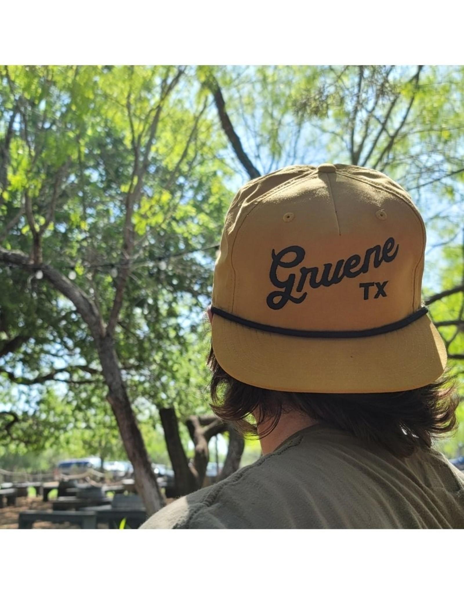 Gruene TX Rope Cap