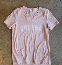 Gruene Varsity V-Neck Tee