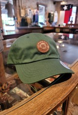 Gruene Texas Leather Patch Cap