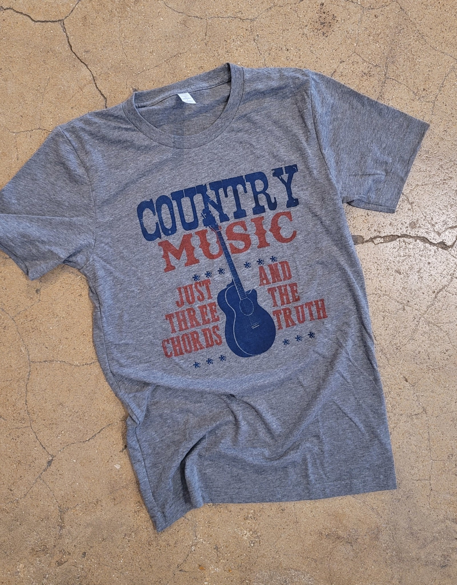 Country Music Tee by Ruby's Rubbish