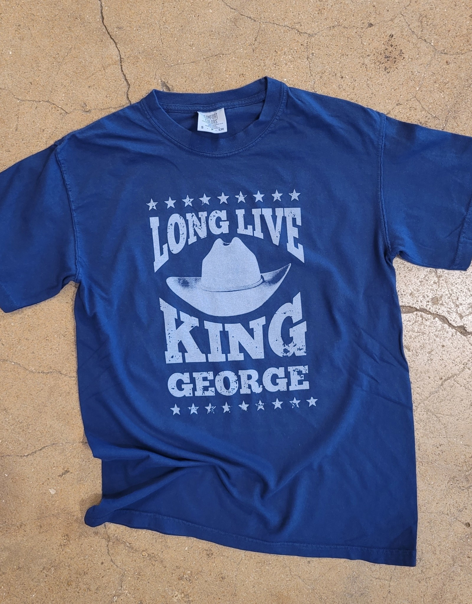Long Live King George Tee by Ruby's Rubbish