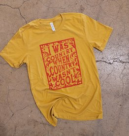 When Country Wasn't Cool Tee by Ruby's Rubbish