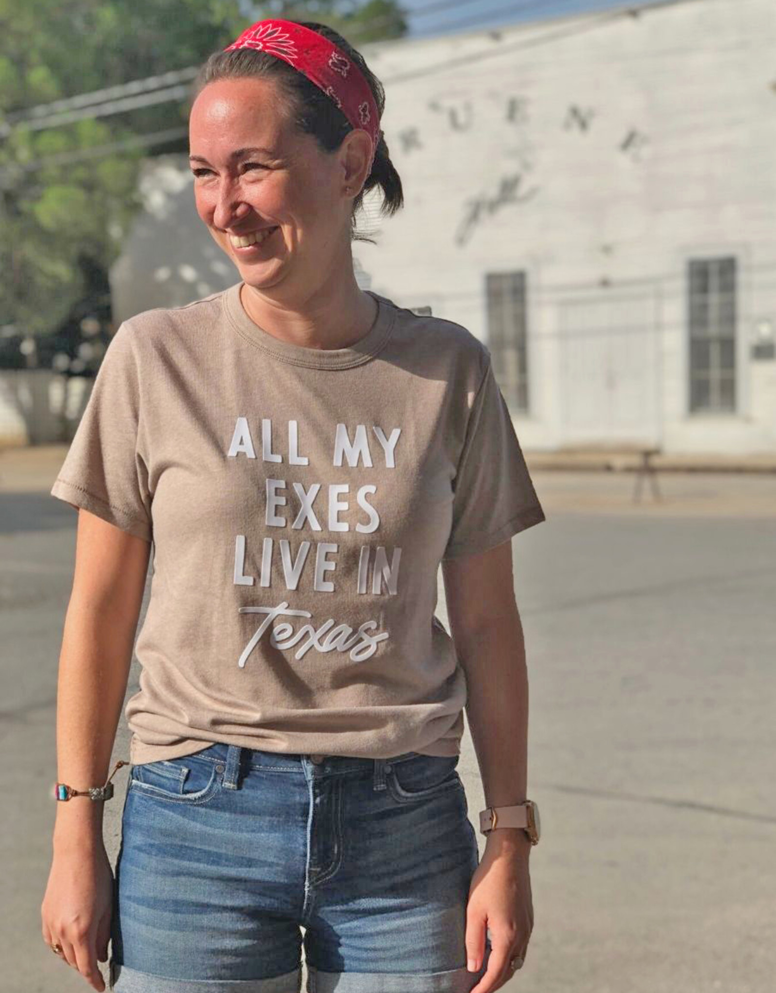 All My Exes Tee by Frankie Jean