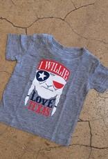 Baby Willie Love Texas Tee
