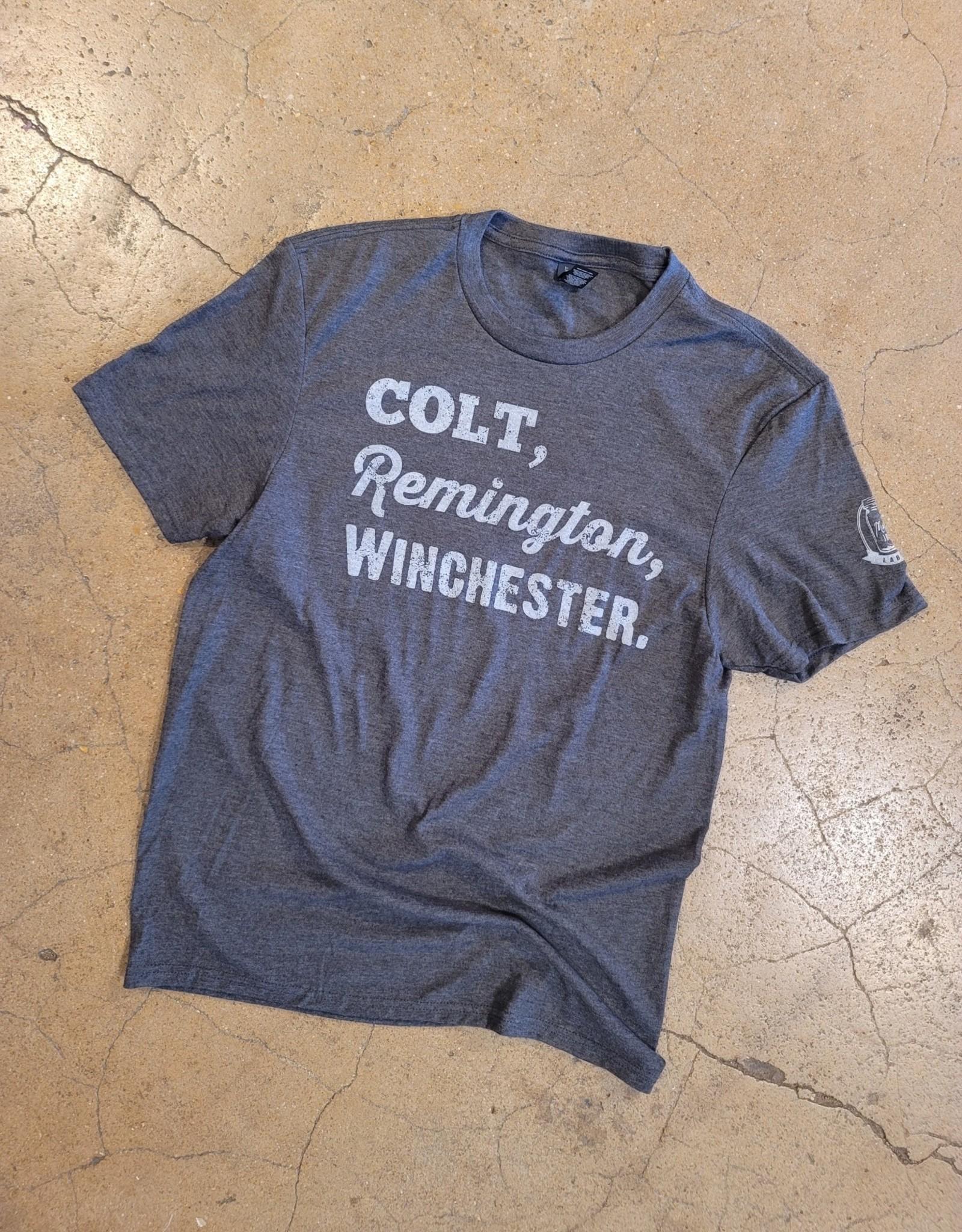 Colt, Remington, Winchester Tee