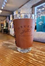 Gruene Hall Leather Pint Glass Sleeve by Oowee
