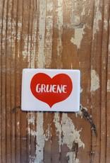 Gruene Heart Magnet