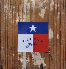 Gruene Hall Texas Flag Magnet