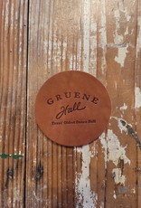 Gruene Hall Leather Coaster by Oowee