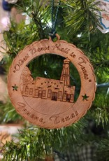 Gruene Hall Wooden Ornament