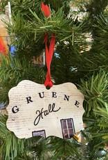 Gruene Hall Metal Ornament by South Austin Gallery