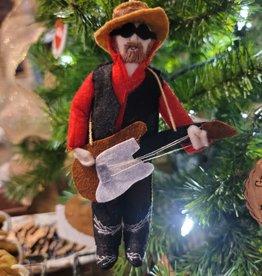 Hank Williams Jr Ornament