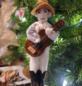 Hank Williams Sr Ornament