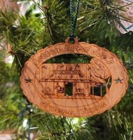 Cotton Eyed Joe's Wooden Ornament
