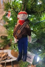 Willie Nelson Ornament
